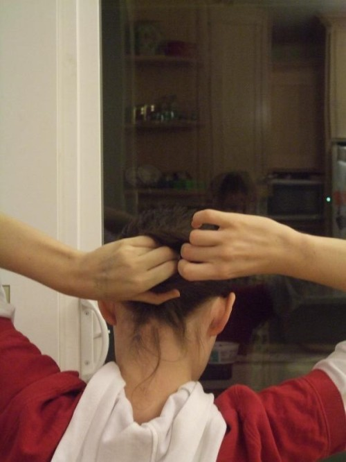 how to put your hair up